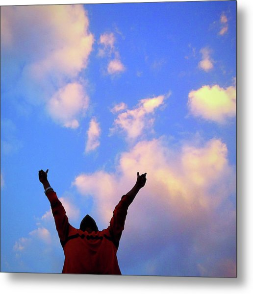 Hands In The Air Metal Print