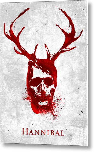 Hannibal Tv Show Poster Metal Print