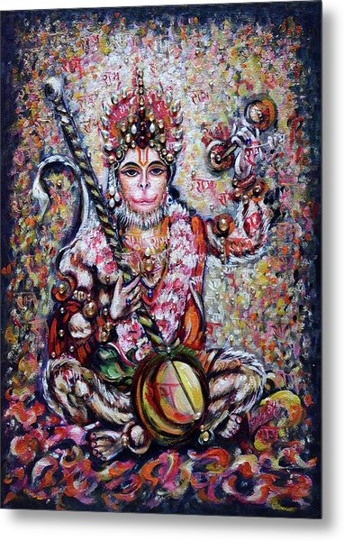 Hanuman - Ecstatic Joy In Rama Kirtan Metal Print