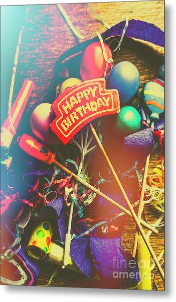 Happy Birthday Metal Print