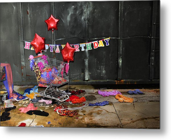 Happy Birthday Metal Print