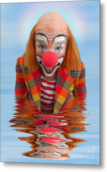 Happy Clown A173323 5x7 Metal Print