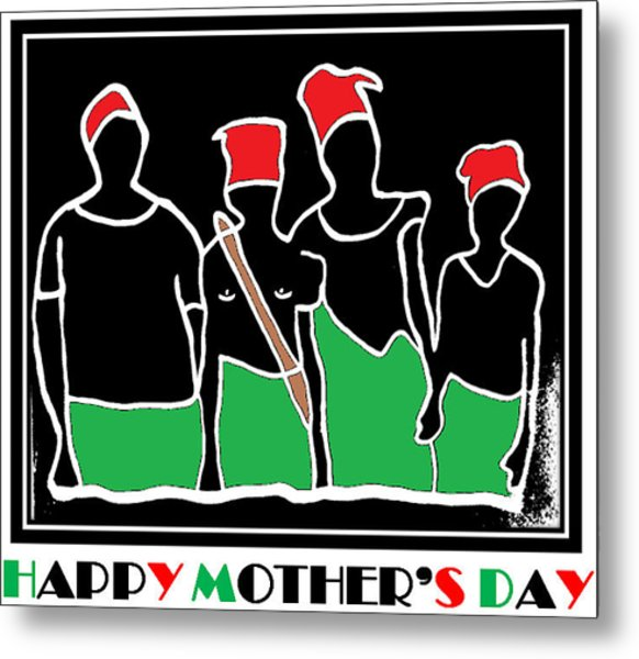 Happy Mother's Day 3 Metal Print