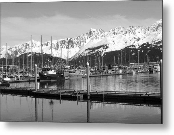 Harbor Boats Metal Print by Ty Nichols