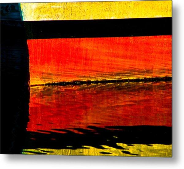 Harbor Colors Metal Print