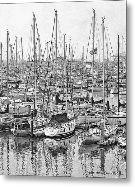 Harbor II Metal Print