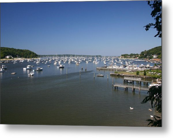 Harbour Metal Print by Dennis Curry