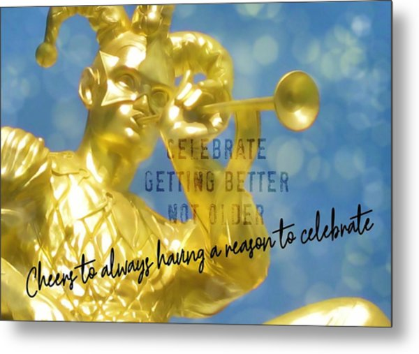 Harlequin Quote Metal Print by JAMART Photography