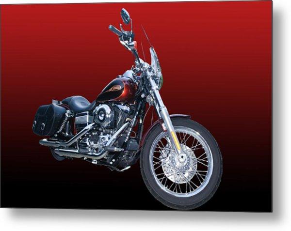 Harley Bike Metal Print