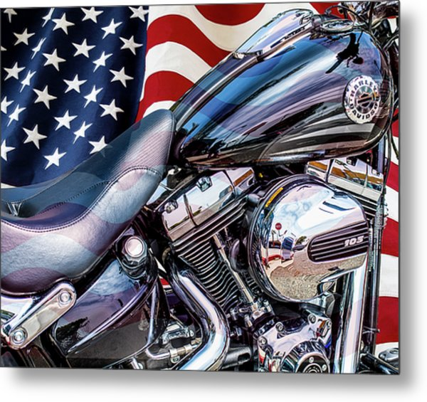 Harley-davidson 103 - B Metal Print