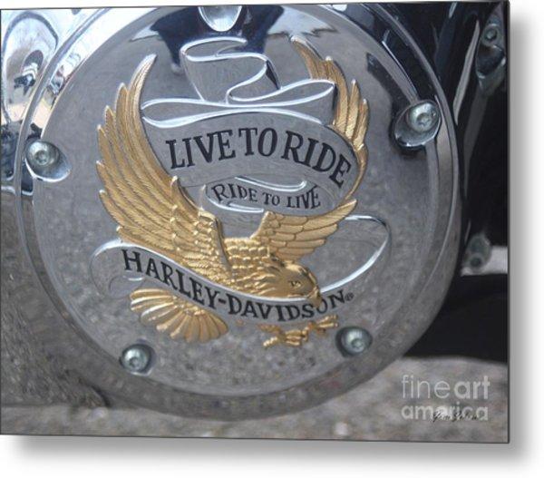 Harley Davidson Accessory Metal Print