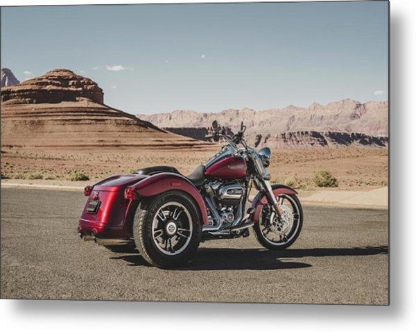 Harley-davidson Freewheeler Metal Print