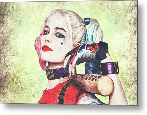 Harley Is A Crazy Woman Metal Print