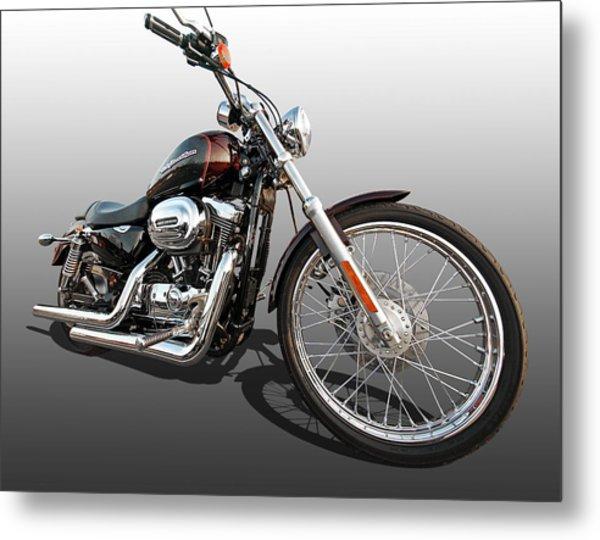 Harley Sportster Xl1200 Custom Metal Print