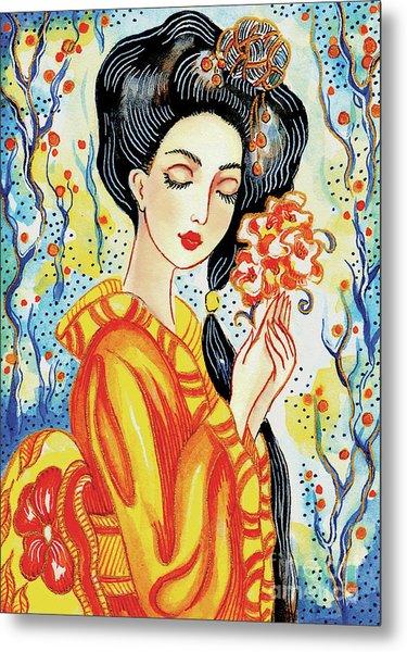 Harmony Flower Metal Print