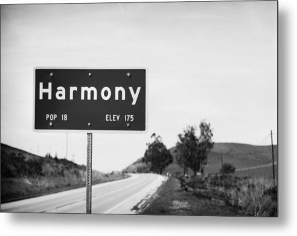 Harmony Metal Print by John Gusky
