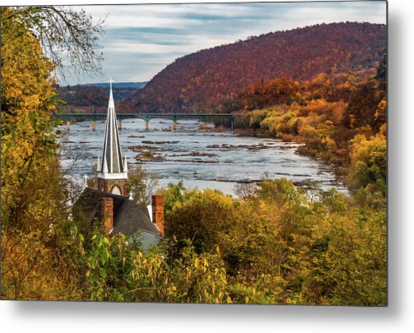 Harpers Ferry, West Virginia Metal Print