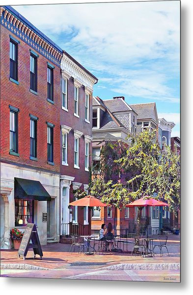 Harrisburg Pa - Coffee Shop Metal Print