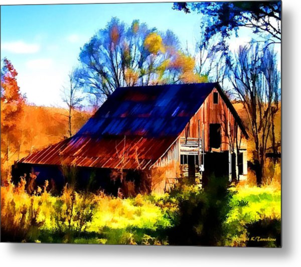 Harrison Barn Metal Print