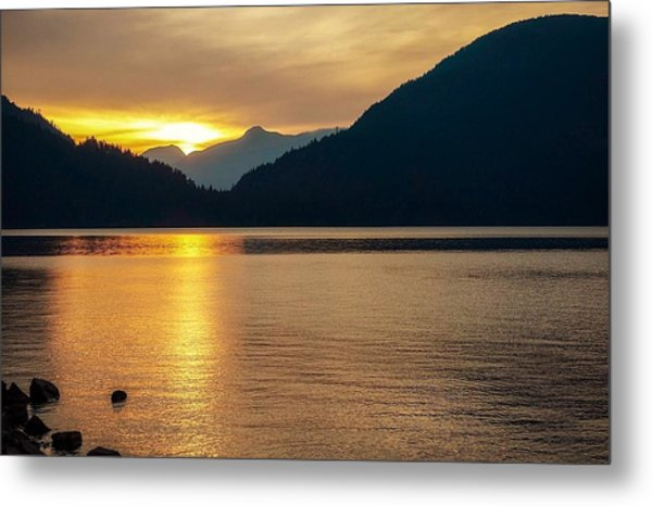 Harrison Lake, British Columbia Metal Print
