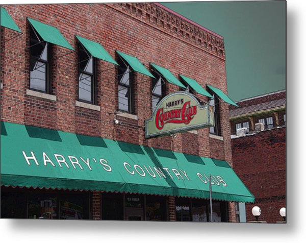 Harry's Country Club Metal Print