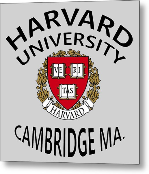 Harvard University Cambridge M A  Metal Print