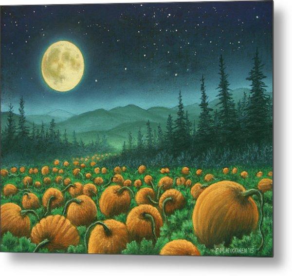 Harvest Moon 01 Metal Print