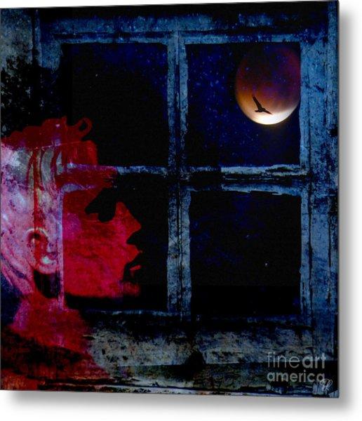 Harvest Moon Metal Print