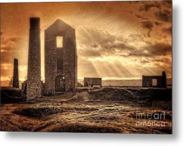 Haunted Britain - Magpie Mine Metal Print