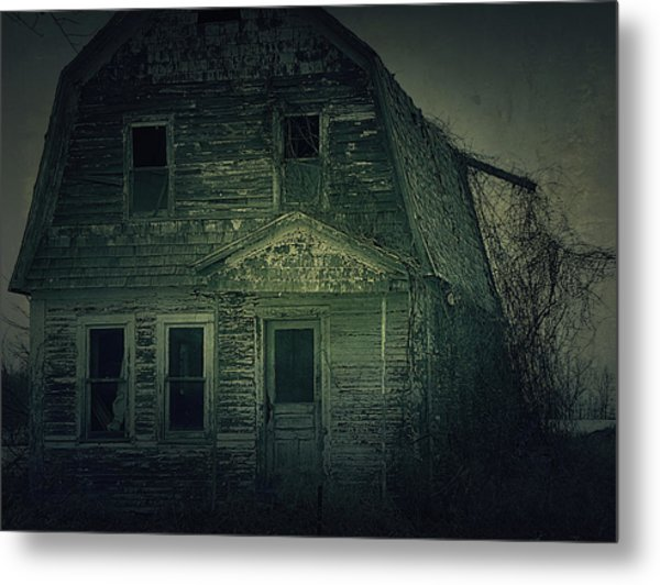 Haunting Metal Print by Scott Hovind