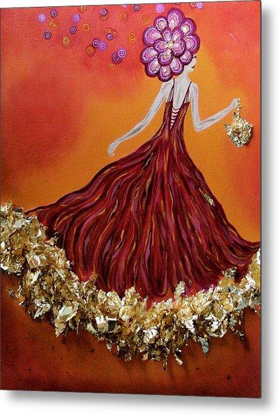 Haute Couture Sunset Metal Print by Samantha Kulchar