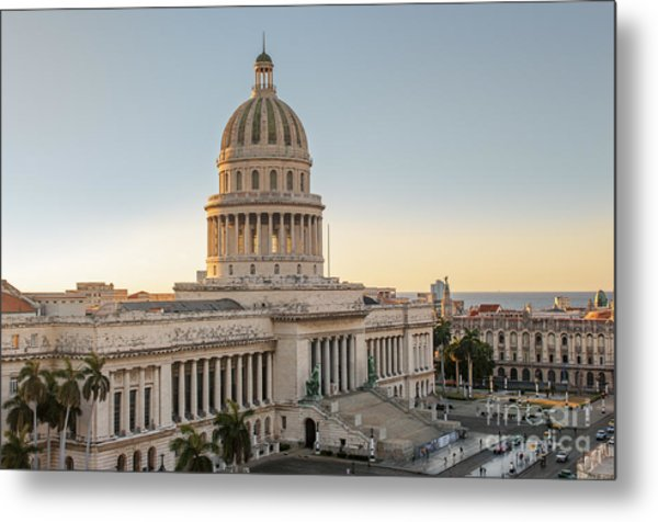 Havana Capitolio Metal Print
