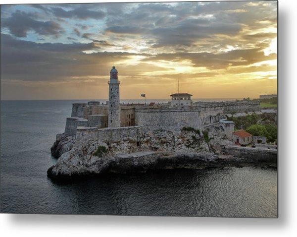 Havana Castillo 2 Metal Print