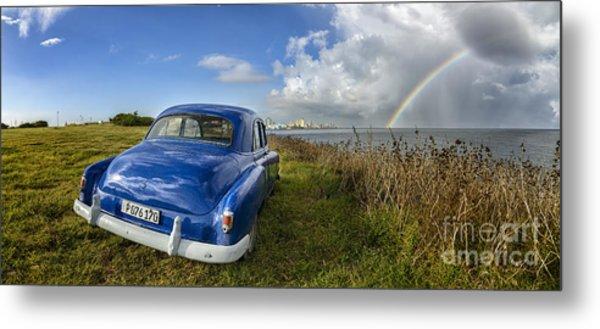 Havana Rainbow Metal Print