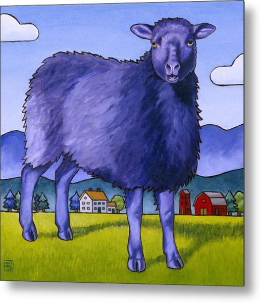 Have You Any Wool Metal Print