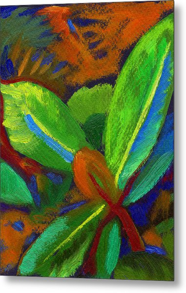 Hawaiian Plant 2 Metal Print