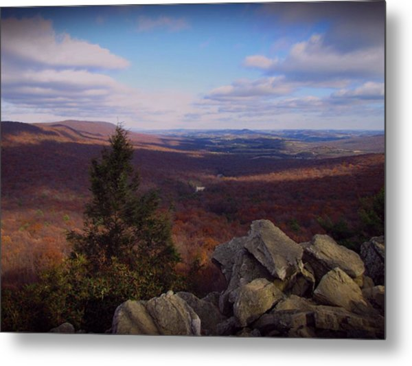 Hawk Mountain Sanctuary Metal Print
