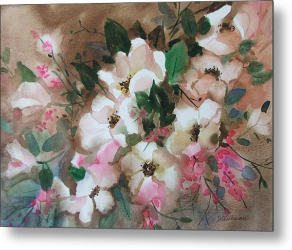 Hawthorne Beauties Metal Print by Dianna Willman