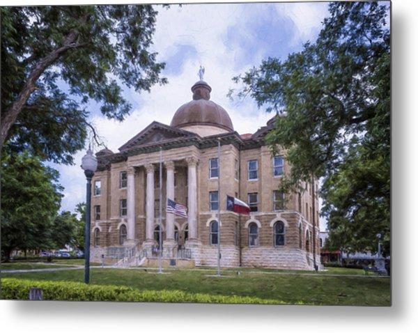Hays County Courthouse Metal Print