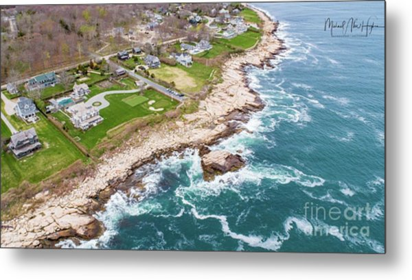 Hazard Rocks, Narragansett  Metal Print