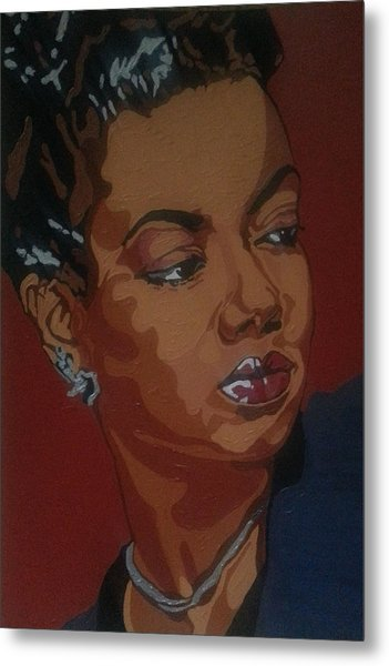 Hazel Scott Metal Print