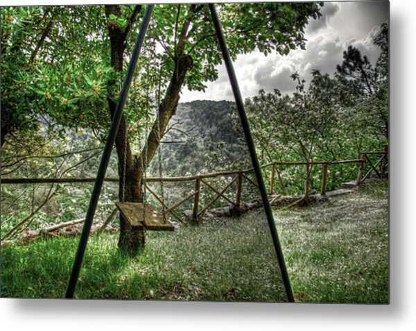 Hdr Swing Metal Print