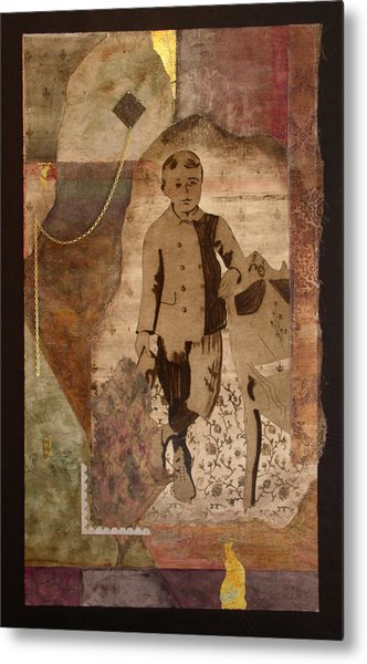 He Knows There Must Be More Metal Print by Katherine Weston