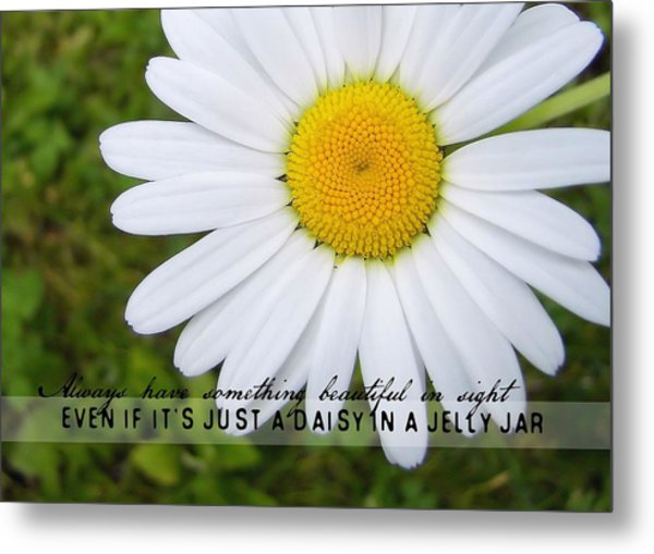 He Loves Me Quote Metal Print by JAMART Photography