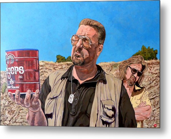 Metal Print featuring the painting He Was One Of Us by Tom Roderick