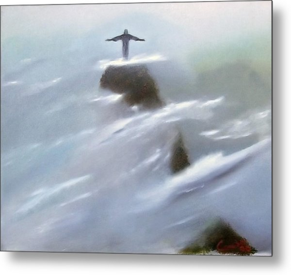 He Watches Over Us Metal Print by Darren Yarborough