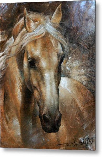Head Horse 2 Metal Print