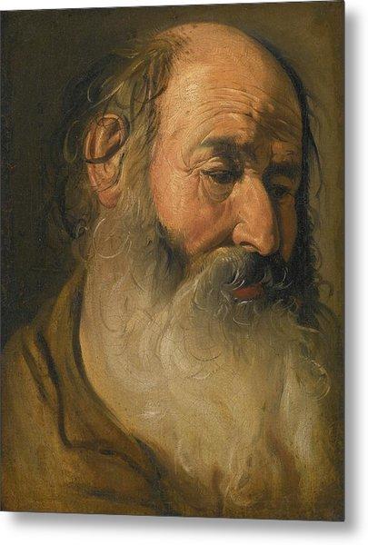 Head Of An Old Bearded Man Metal Print