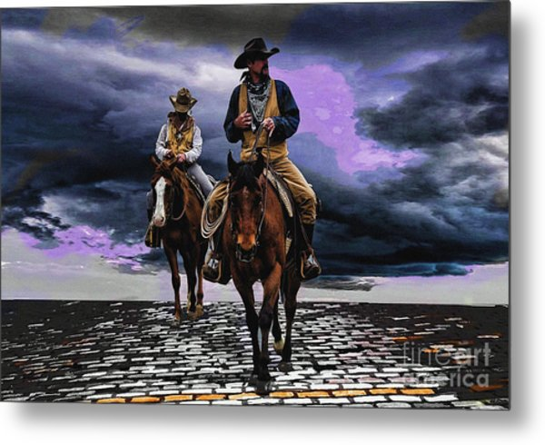 Headed Home Metal Print