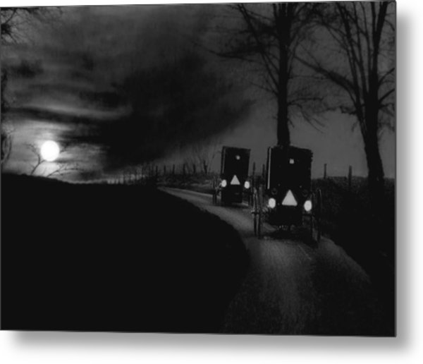 Headin Home Metal Print